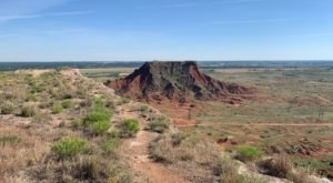 Challenge Yourself To Climb A Mesa When You Visit Gloss Mountain Sate Park This Summer In Oklahoma