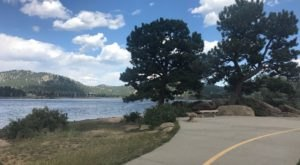 Lake Estes Is A Bike & Trike Friendly Path In Colorado That Will Lead You Through Natural Beauty