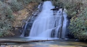 Plan A Visit To Helton Creek Falls, Georgia's Beautifully Clear Waterfall