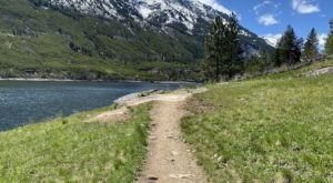 With A Lake And A Surprise Waterfall, The Lake Como Loop Trail Is The Ideal Montana Summer Hike