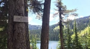 The Hiking Trail Hiding Along The Idaho-Montana Border That Takes You To A Crystal Clear Mountain Lake