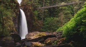 Just About Anyone Can Tackle The Drift Creek Falls Trail At Siuslaw National Forest In Oregon