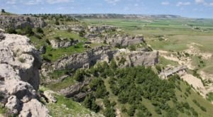 You Don't Want To Miss The Stunning Valley Views At North Overlook Trail In Nebraska