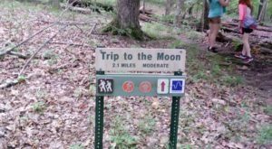 Hike To The Moon And Back On The Mountwood Trail Network In West Virginia