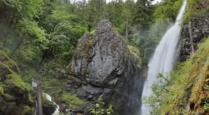 This Easy, 3/4-Mile Trail Leads To Henline Falls, One Of Oregon's Most Underrated Waterfalls