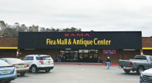You'll Find All Kinds Of Treasures At Bama Flea Mall & Antique Center In Alabama