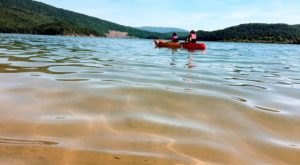 Nestled In The Virginia Mountains, Lake Moomaw Has Some Of The Clearest Water In Virginia