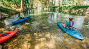 Kayak The Medina River In Texas For A Scenic, Relaxing Adventure