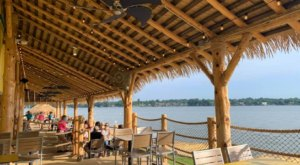 LandShark Bar & Grill Is A Waterfront Restaurant In Texas With Gorgeous Lake Views