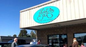 Ooey Gooey Plate-Sized Cinnamon Rolls Await At Let's Eat, A Small-Town Arkansas Restaurant