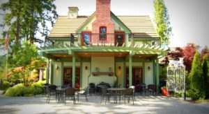 Dine Outside In A Fairytale Setting At This Storybook Restaurant, The Manor House, In Washington