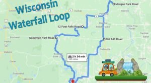 Wisconsin's Scenic Waterfall Loop Will Take You To 7 Different Waterfalls
