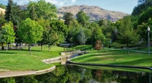 Escape The Utah Summer Heat At The Green, Shady Memory Grove Park