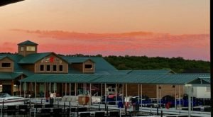 Have The Perfect Summer Meal At A Floating Restaurant At Burnt Cabin Marina In Oklahoma