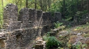 When You Take Sope Creek Trail, It'll Lead You To Extraordinary Ancient Ruins In Georgia
