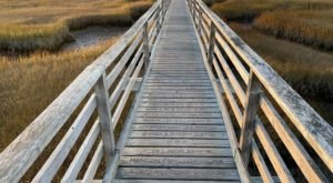 Take A Stroll Upon Bass Hole Boardwalk For The Best Hidden Sunsets In Massachusetts