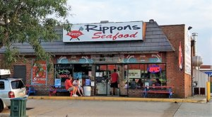 People Go Crazy For The Famous Deviled Crab Eggs At Rippons Seafood In Maryland