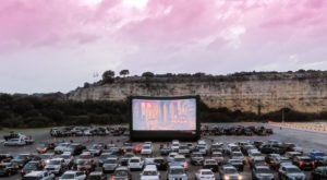 One Of The Best Drive-In Theaters In America Is Rooftop Cinema Club Here In Texas