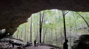 History And Nature Collide Along Indian Rock House Trail In Arkansas