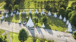 Stay In An Air-Conditioned Tepee For A Unique Overnight At Wigwam Village In Kentucky