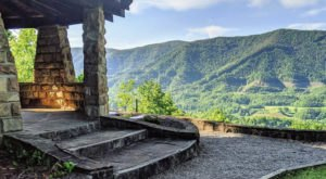 A Stone Gazebo Welcomes You To This Scenic Mountain Park In Kentucky