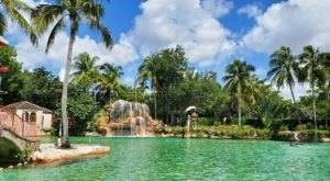 Relax In A Tropical Wonderland At America's Biggest Freshwater Swimming Pool In Florida