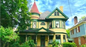 Stay The Night In This Victorian Mansion In Maryland That's Whimsical As Can Be