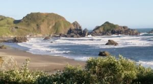 Sea Stacks, Tide Pools, and Sea Lions Await At Lone Ranch Beach Near Brookings, Oregon