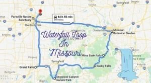 Missouri's Scenic Waterfall Loop Will Take You To 8 Different Waterfalls