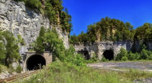 An Abandoned Mine Cave In Kentucky, Mullin's Station Is Hauntingly Beautiful