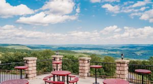 Drink In Sensational Views Of Jim Thorpe At Roadies Restaurant And Bar In Pennsylvania