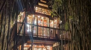 Stay Overnight At This Spectacularly Unconventional Treehouse In Georgia