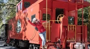 Ride The Rails In Your Own Private Caboose In The Mountains Of North Carolina