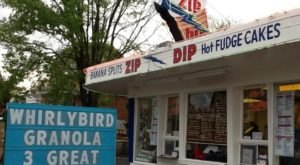 Treat Yourself To Soft Serve Ice Cream At Zip Dip, A 1950s Ohio Snack Shop