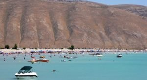 Bear Lake State Park Beaches In Idaho Will Make You Feel Like You're At The Ocean