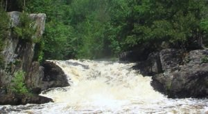 Navigate Your Way From A Beach To A 22-Foot Waterfall On This Wisconsin Paddling Adventure