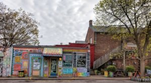 Covered In Colorful, Ever-Evolving Artwork, Third Street Stuff And Coffee Is A Quirky Spot In Kentucky You'll Never Want to Leave
