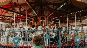 The Beloved Joyland Carousel Is Restored And Rideable At The Wichita Botanica Gardens