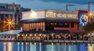 This Beautiful Intracoastal Restaurant, Billy's Stone Crab In Florida, Offers Waterfront Dining