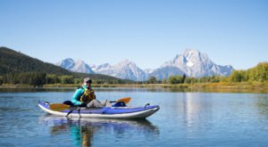 Beat The Summer Heat With A Kayak Trip Through Grand Teton National Park In Wyoming