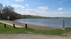Soak Up Some Sun While Enjoying A Quiet Day At The Lake In North Dakota's Beaver Lake State Park