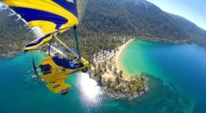 Fly In A Hang Glider Above Lake Tahoe In Nevada For An Adventure You'll Never Stop Bragging About
