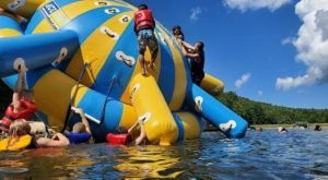 One Of West Virginia's Coolest Aqua Parks, Pipestem Adventure Lake Will Make You Feel Like A Kid Again
