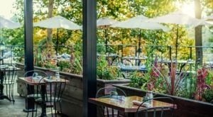 The Waterfall Views From Passerelle Bistro In South Carolina Are As Praiseworthy As The Food