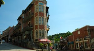 You Can Spend The Night At Eureka Springs' Most Photographed Building For A Relaxing Arkansas Getaway