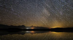 Catch The Best And Brightest Meteor Shower Of The Year When It Appears Over Maine In August