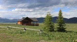 Enjoy Completely Unspoiled Scenery And Endless Wildlife At Flat Ranch Preserve In Idaho