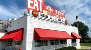 Order Some Of The Best Burgers In Wisconsin At Mickey-Lu-Bar-B-Q, A Ramshackle Fast Food Joint