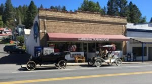 The Hand-Rolled Ice Cream At Harrison Trading Post In Idaho Is Worth Going Out Of Your Way For