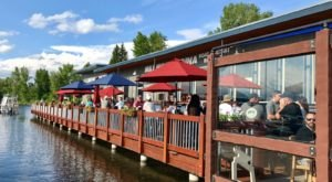 Grab Some Food And Rent A Kayak At Mile High Marina In Idaho